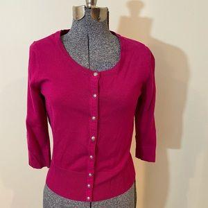 White House Black Market Pink Sweater